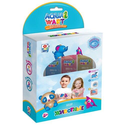 Купить 1 TOY Набор Aqua Art Животные (Т20085), Поделки и аппликации