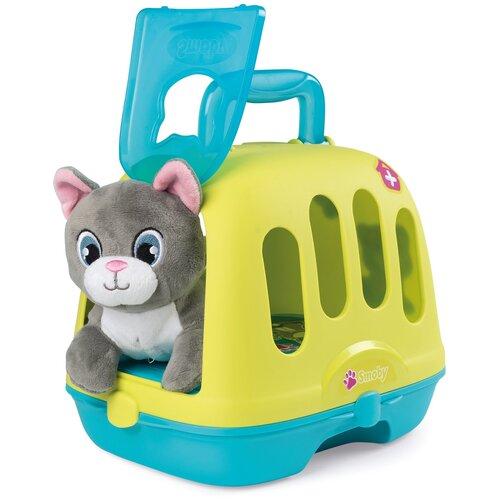 Ветеринарный чемоданчик-переноска Smoby с котенком 340300