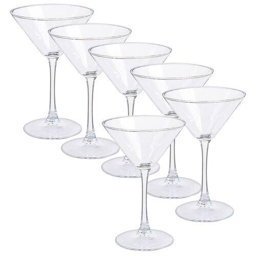 Pasabahce Набор бокалов для мартини Enoteca (440061) 6 шт., 215 мл прозрачный pasabahce набор бокалов tulipe 200 мл 6 шт прозрачный