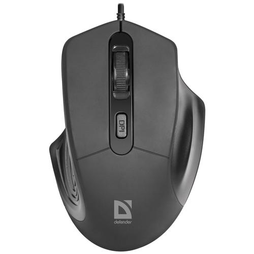 Мышь Defender Datum MB-347, черный