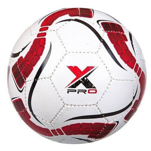 Футбольный мяч Гратвест Т88622 белый/красный 5 мяч гратвест бегемот загорает c20408 22 см синий