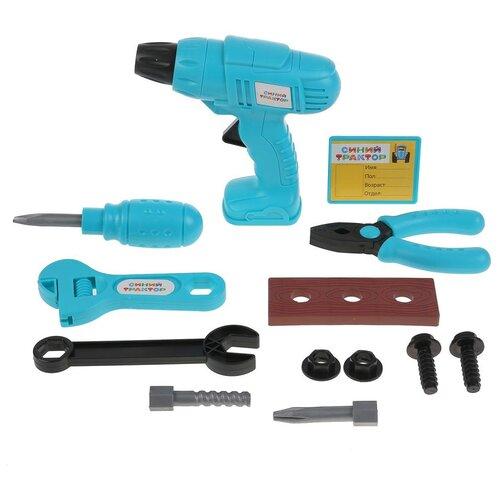 Набор строительных инструментов Синий Трактор Играем вместе