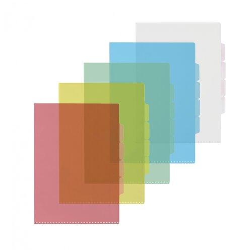 Купить Папка уголок Комус 3 отделения, 150 мкм, 10 штук, Файлы и папки