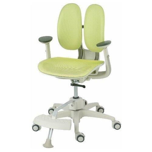 компьютерное кресло duorest kids max детское обивка искусственная кожа цвет светло зеленый Компьютерное кресло DUOREST Kids ai-50 Mesh MDF детское, обивка: искусственная кожа, цвет: зелeный