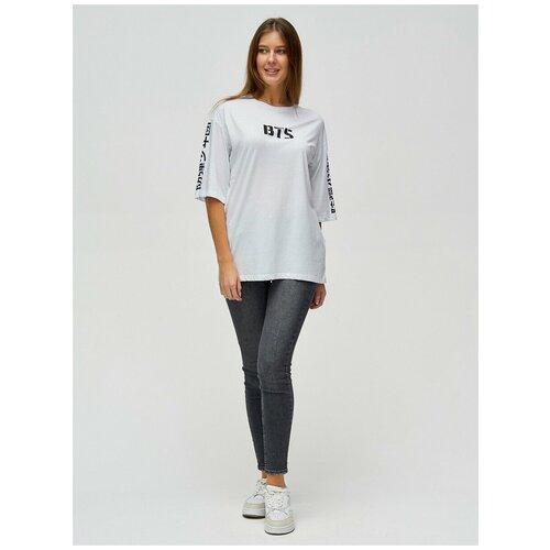Женские футболки с надписями Белый, 44
