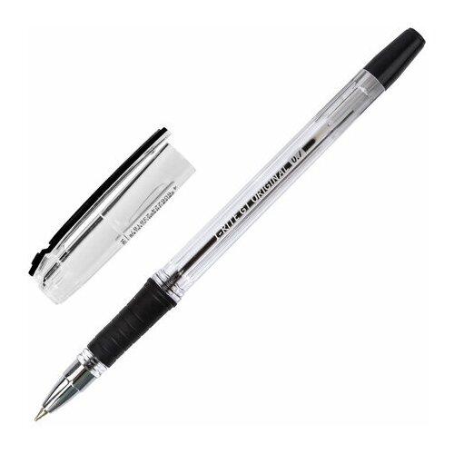 Ручка шариковая Brauberg i-Rite GT (0.35мм, черный цвет чернил, масляная основа, грип) 24шт. (143301)