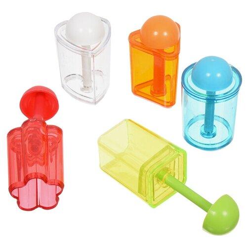 Набор форм для канапе 5 шт 6х3 см пластик