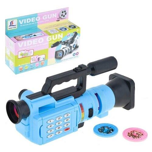 Видеокамера Oubaoloon 10 слайдов, свет, звук, в коробке (JYD172A-3)