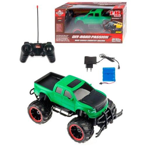 Машина на радиоуправлении / Радиоуправляемый джип / Игрушка на д/у radC-OD2NGreen01 детская игрушка