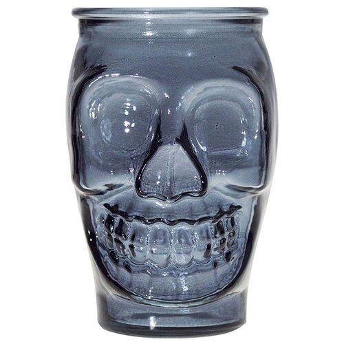 стакан для коктейлей tiki череп 350 мл San Miguel Стакан для коктейлей Череп, 450 мл синий
