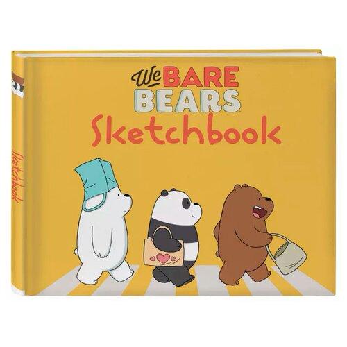 Купить Скетчбук We Bare Bears, Бомбора, Альбомы для рисования