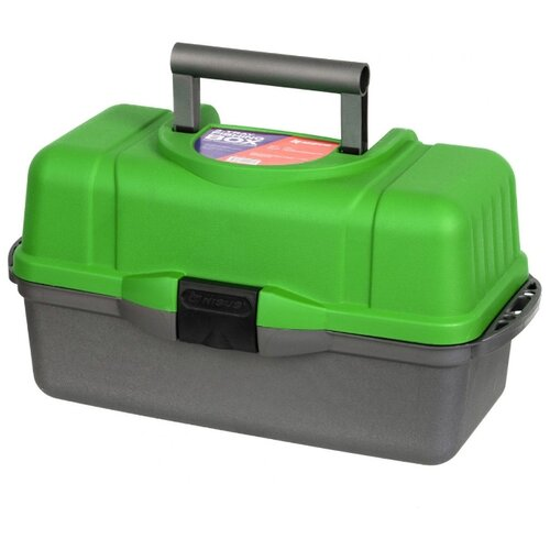 Ящик для рыбалки Nisus N-FB-3 43х22х24 см зеленый