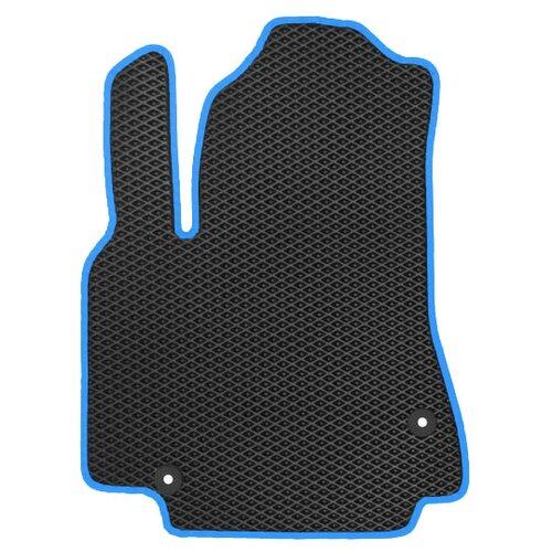 Автомобильный коврик EVA УАЗ Патриот Picap 2014-н.в. ViceCar (синий кант)