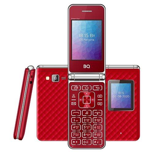 Фото - Телефон BQ 2446 Dream Duo, красный мобильный телефон bq mobile bq 2446 dream duo gold