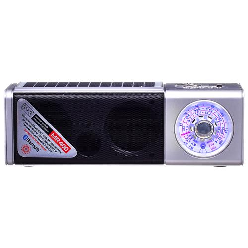 Радиоприемник Max MR-400 серебро