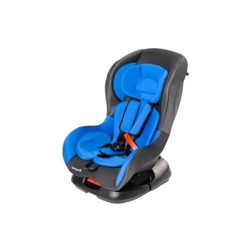 автокресло actrum lb 303 0 18 цвет blue velure синий велюр Автокресло группа 0/1 (до 18 кг) Мишутка LB - N303 (Мишутка), blue/grey