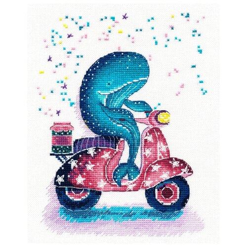 Купить Овен Набор для вышивания Мотоциклист 21 x 16 см (1183), Наборы для вышивания
