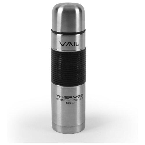 Термос VAIL VL-7016 узкое горло 0,5 л. силиконовая вставка