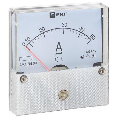 Амперметр для установки в щит EKF AMA-801-50