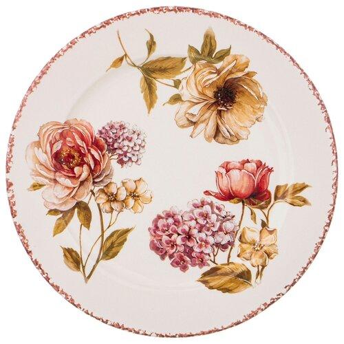Тарелка LCS Flower Garden обеденная 25 см (682-100)