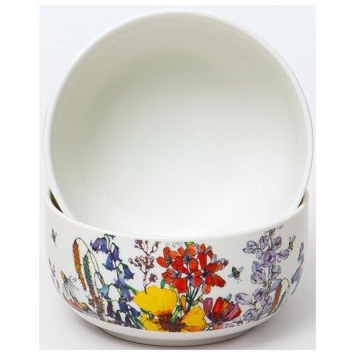 Набор салатников 300мл Полевые Цветы 2 предмета, 169-40008, Balsford набор тарелок balsford полевые цветы 550 мл 2 предмета арт 169 40004