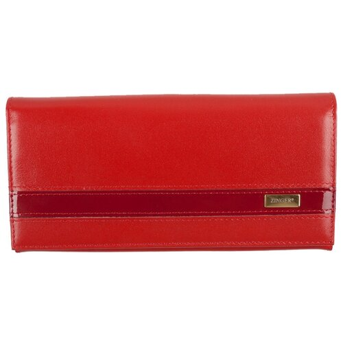 Портмоне из кожи Фиеста (без фрейма), P-01(WN013-2) Red-ЛАК, CLASSIC LINE портмоне женское zinger sahara wn013 3 коричневое