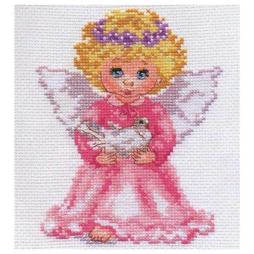 Купить 0-65 Набор для вышивания АЛИСА 'Ангелочек' 12*14см, Алиса, Наборы для вышивания