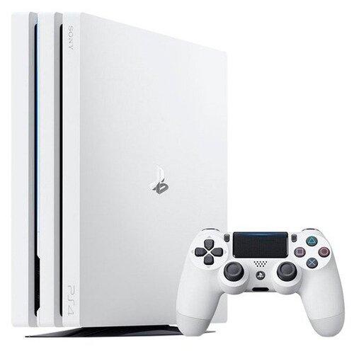 Игровая приставка Sony PlayStation 4 Pro 1 ТБ, белый,