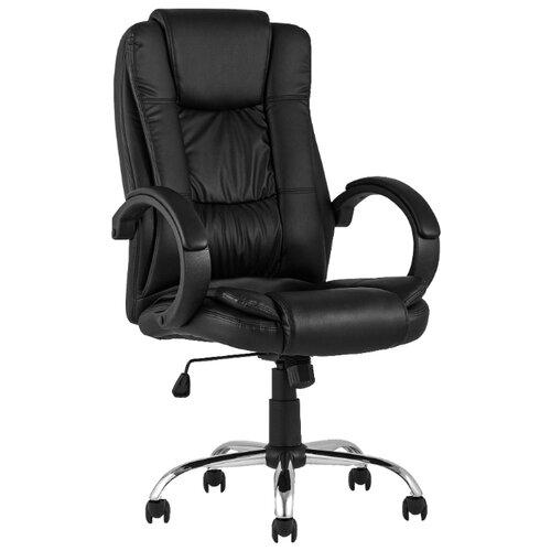 Компьютерное кресло STOOL GROUP TopChairs Atlant для руководителя, обивка: искусственная кожа, цвет: черный