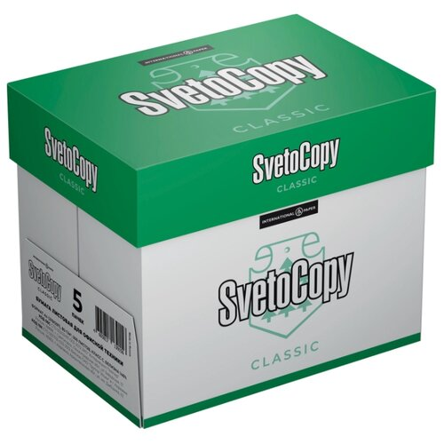 Бумага SvetoCopy A4 Classic 80 г/м² 500 лист. 5шт.