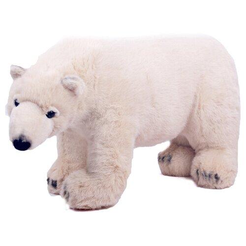 Мягкая игрушка Медведь реалистичный Semo белый, 60 см