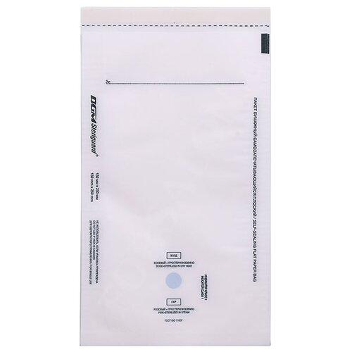 Пакет для стерилизации для стерилизованных инструментов DGM Пакеты для стерилизации 150х250 мм, 100 шт. белый