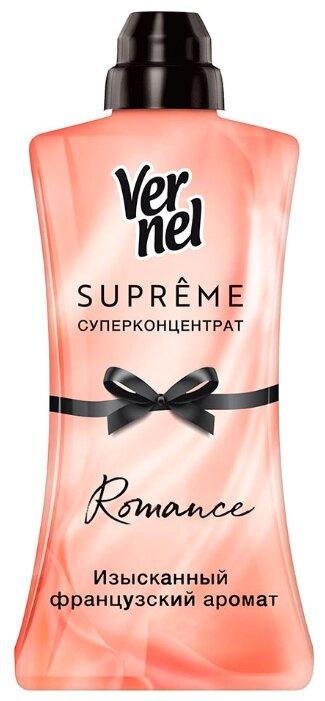Купить Vernel Концентрированный кондиционер для белья Supreme Romance, 1.2 л по низкой цене с доставкой из Яндекс.Маркета