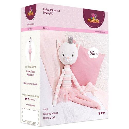 Купить Комплект для шитья игрушки Miadolla Кошечка Холли арт. C-0297, Изготовление кукол и игрушек
