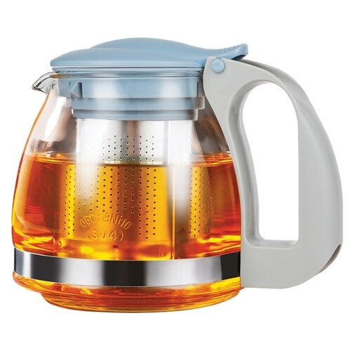 LARA Заварочный чайник LR06-19, 0.7 л, blue