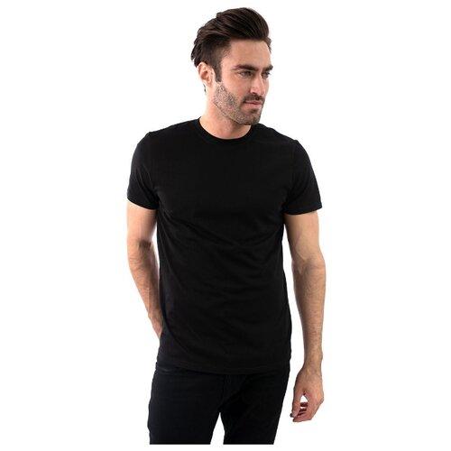 футболка мужская anta цвет черный 85839144 3 размер m 48 Футболка мужская однотонная, натуральный хлопок, черный цвет, размер M