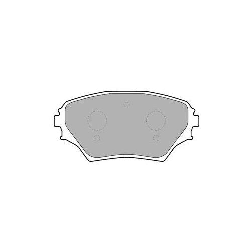 Фото - Дисковые тормозные колодки передние DELPHI LP1632 для Toyota RAV4 (4 шт.) дисковые тормозные колодки передние nibk pn1521 для toyota camry 4 шт
