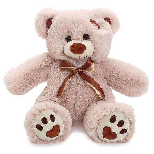 Купить Мягкая игрушка Любимая игрушка Медведь Тони латте, 50 см, ЛюбиМая игрушка, Мягкие игрушки