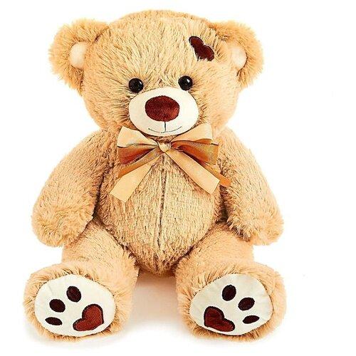 Купить Мягкая игрушка Любимая игрушка Медведь Тони , 50 см, цвет кофейный, ЛюбиМая игрушка, Мягкие игрушки