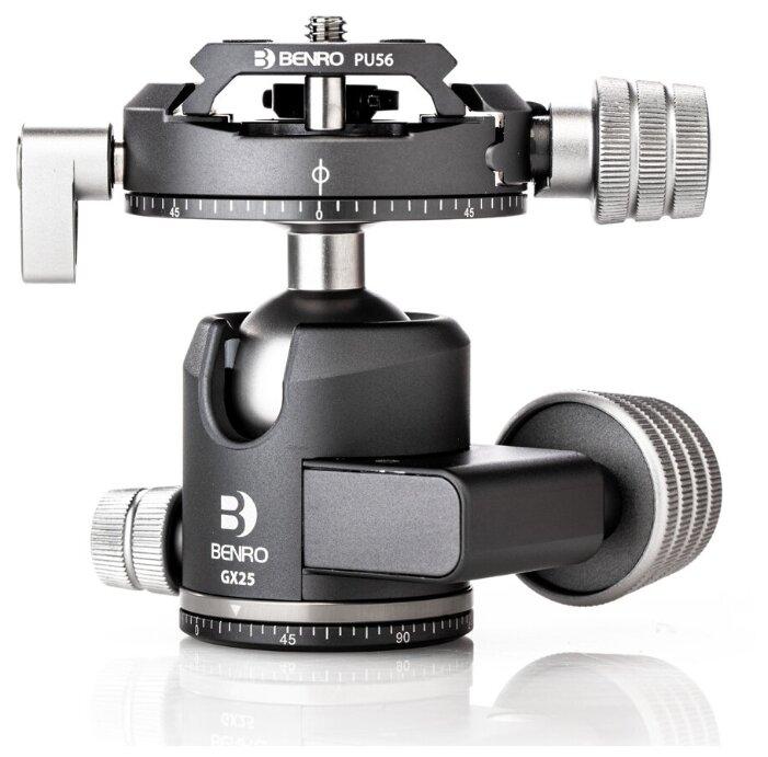 Benro GX25 шаровая голова Dual Panoramic/Arca-swiss style/25 кг