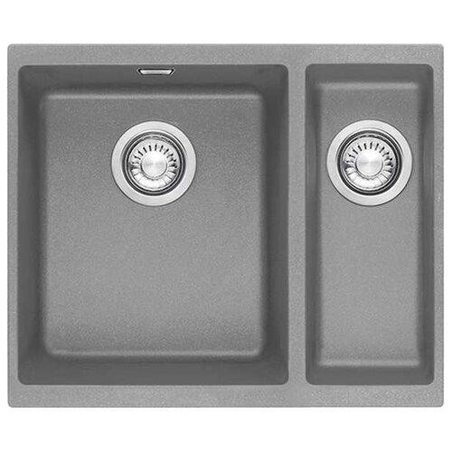 Фото - Врезная кухонная мойка 56 см FRANKE SID 160 серый врезная кухонная мойка 56 см franke sid 610 полярный белый