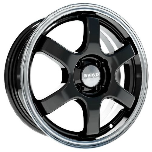 Фото - Колесный диск SKAD Киото 6x15/4x100 D60.1 ET40 Антрацит-алмаз колесный диск skad милан 6 5x16 5x112 d66 6 et40 алмаз