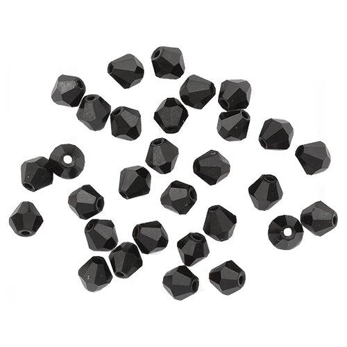 Купить Z-439 Бусины стеклянные, 6*6 мм, упак./30 шт., 'Астра' (801), Astra & Craft, Фурнитура для украшений