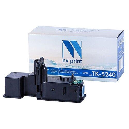 Фото - Картридж NV Print TK-5240 Cyan для Kyocera, совместимый картридж nv print tk 865 cyan для kyocera совместимый