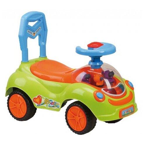 Купить Каталка-толокар Наша игрушка Друзья (zxl19110601-40) зеленый/оранжевый, Каталки и качалки