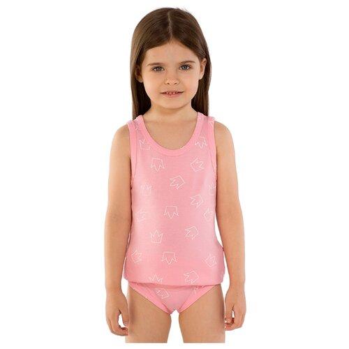 Купить Майка Roxy Foxy размер 104, розовый, Белье и купальники