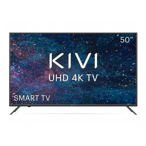 Фото - Телевизор KIVI 50U600KD 50 (2020), черный led телевизор kivi 40f710kb