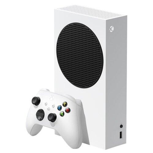 Игровая приставка Microsoft Xbox Series S 512 ГБ, белый/черный,