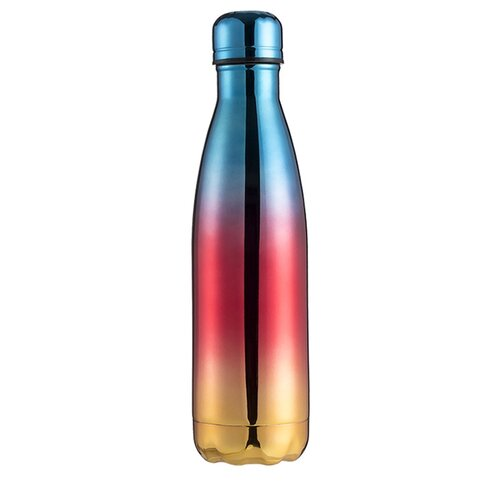 Термобутылка Blonder Home BH-MWB-14, 0.5 л голубой/красный/желтый