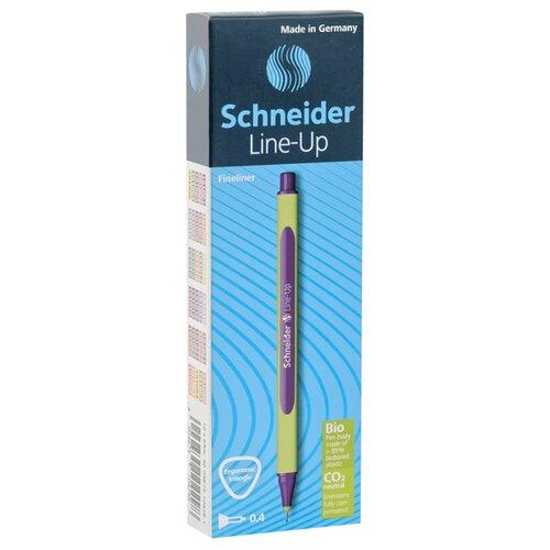Купить Schneider Набор капиллярных ручек Line-Up 0.4 мм, 10 шт., фиолетовый цвет чернил, Ручки